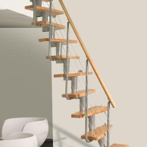 Moduļu kāpnes MINI Plus